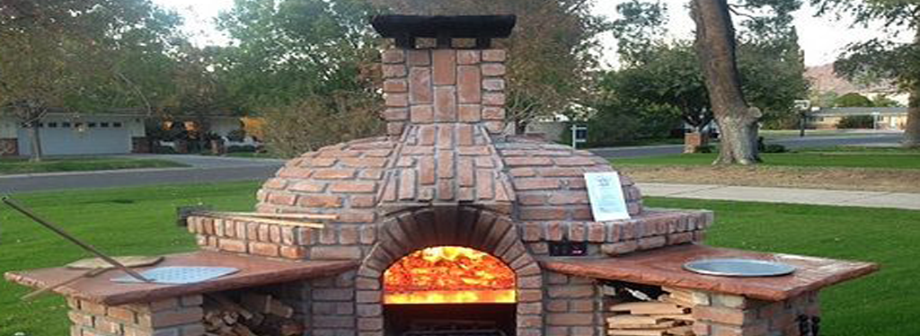 Horno pizzero casero
