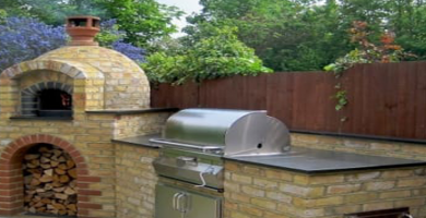 hornos a leña exterior