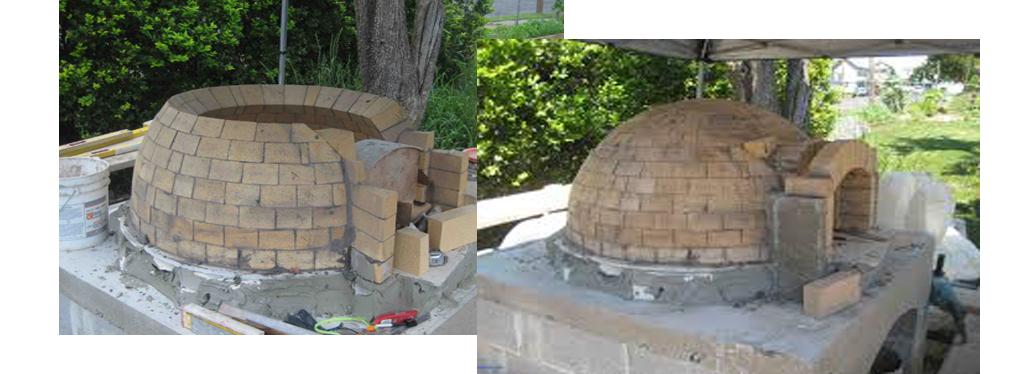 hornos metalicos de leña fabricacion